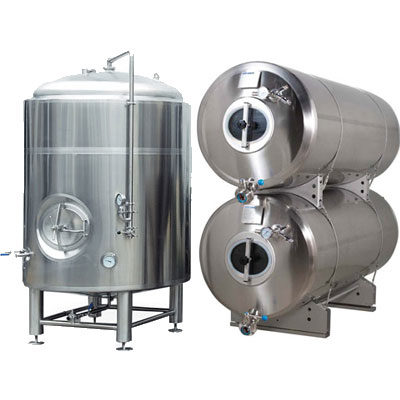 BMF : Fermentors for secondary fermentation - maturation