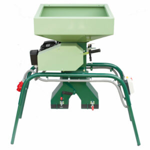 MM-800-1000 malt mill with the two bags holder