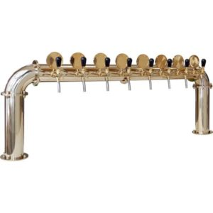"BDT-BR8V Beverage dispense tower ""Bridge"" for 8pcs of beverage taps"