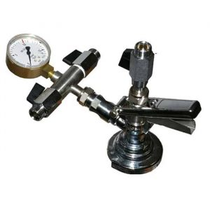KFM-01 : Isobaric valve to manual filling carbonated beverages into KEG barrels and petainers