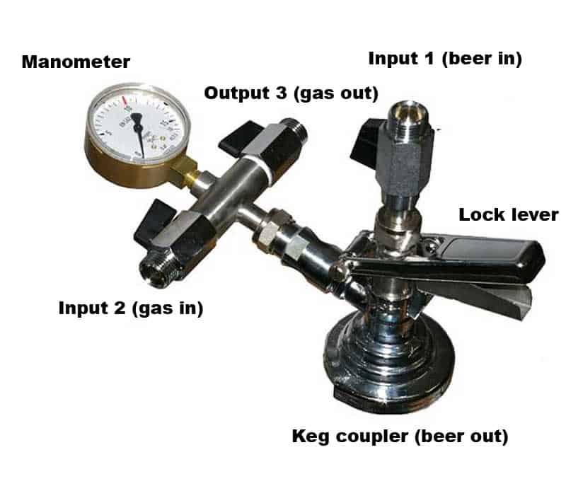 KFM-01 : Filling head for kegs - description