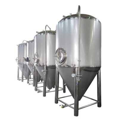 CCT - Cylindrical conical tank with insulation and double jacket for fermentation and maturation of beer, wine, cider