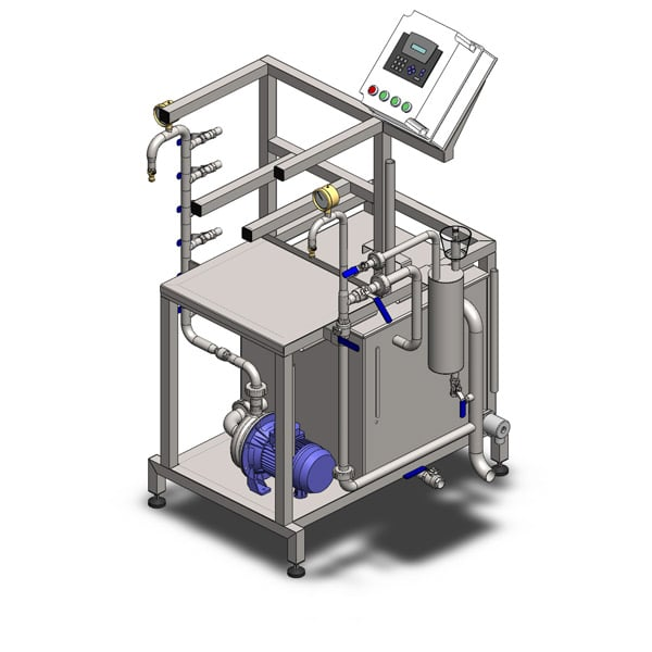 kcm 10 600 03 - FUIC-SHP1C-4x100CCT Compact fermentation unit 4×100/120 liters 2.5bar - cmushp, mfushp, cctmshp, fuicshp, hft