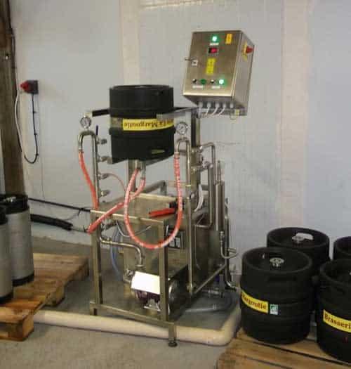 Manual keg washer - rinser - filler KCM-10