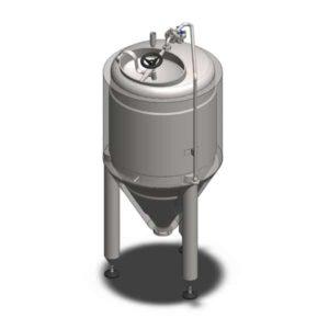 YSTP12G – Yeast pressure storage tank 120 liters