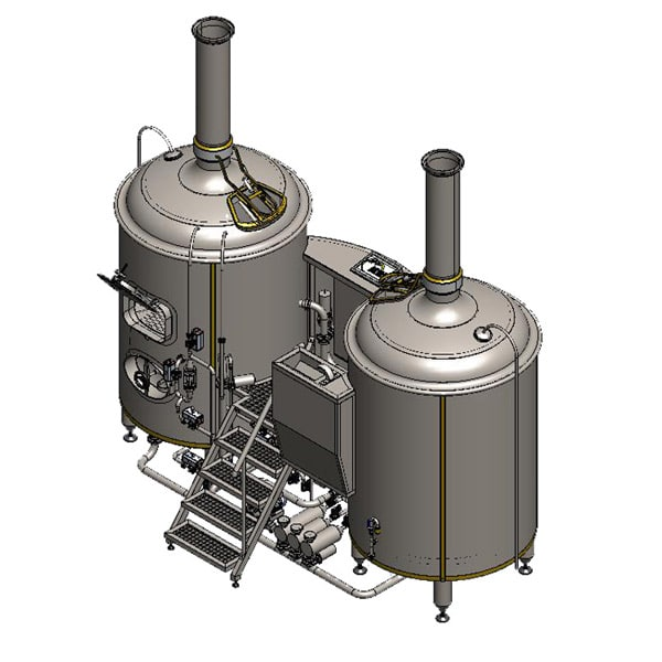 Brewhouse Breworx Classic Stainess steel
