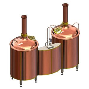Breworx Classic copper brewhouse