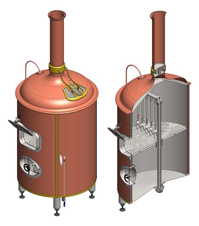 Filtering tank and whirlpool tank
