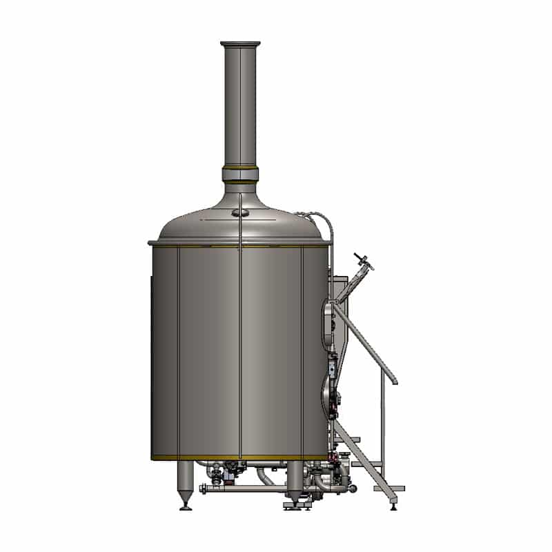 brewhouse breworx classic 1500 - left view