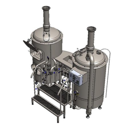 Brewhouse breworx classic 300 - pohled shora