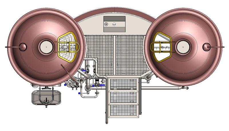 Brewhouse Breworx Classic 500 - top view