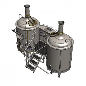 BREWORX CLASSIC 600 : Wort brew machine