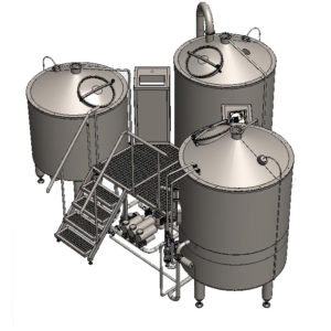 BREWORX TRITANK 600 : Wort brew machine – the brewhouse
