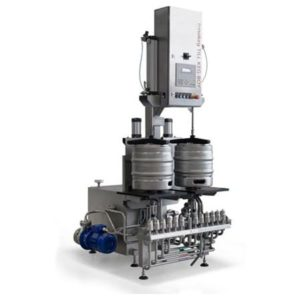 KWF-35 Machine for the automatic rinsing and filling of kegs 25-35 kegs/hour