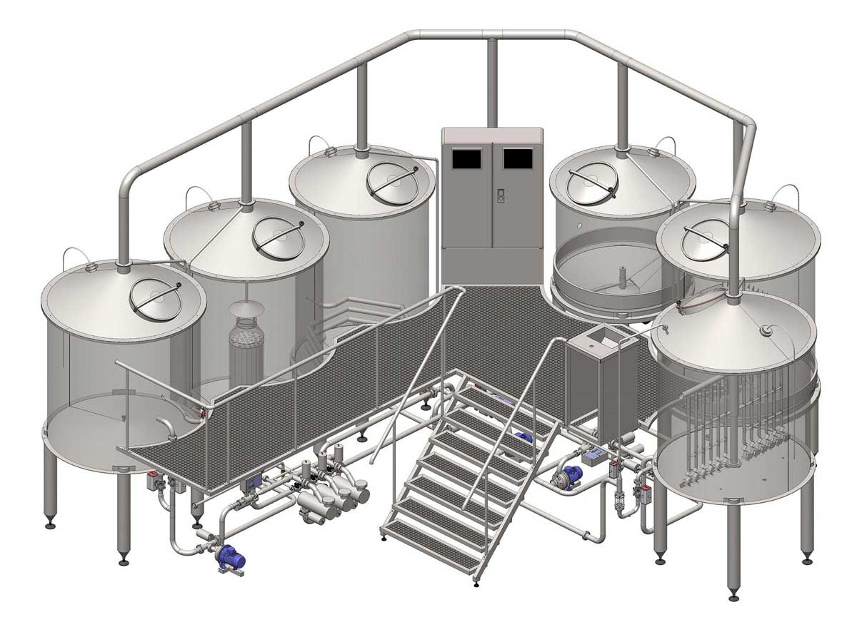 Oppidum brewhouse - total view