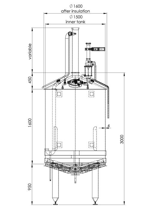Oppidum 2000 Mash kettle