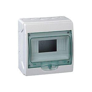 SWB-KA-12 Wall switchboard box plastic 12-positions IP-65