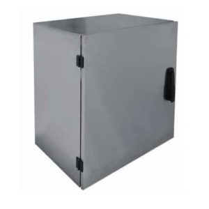 SWB-LC19-12U Wall switchboard stainless 400mm 19″rack IP-65