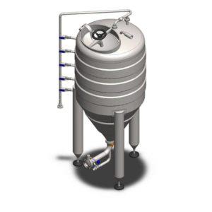 YSTP32G – Yeast pressure storage tank 320 liters