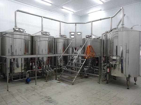 BREWORX OPPIDUM brewery - small variation from 1000 up to 4000 liters