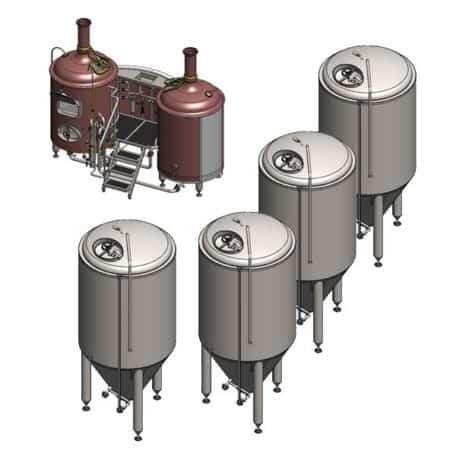 Breworx Classic microbrewery system