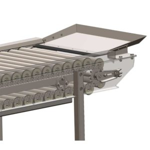 FSC-3000-BP : Sorting table with roller conveyor 3000 kg/hr