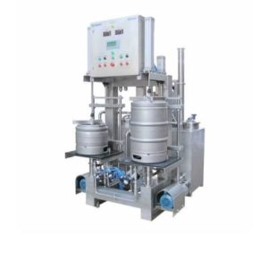 KWR-30 Machine for the automatic rinsing and filling of kegs : 25 up to 35 kegs/hour