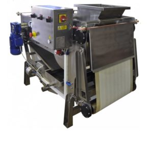 FBP-500P-BP : Fruit belt press 600 kg/hour with pump