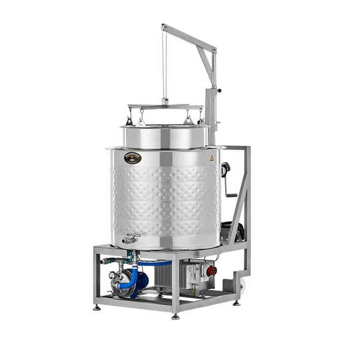 bm 200 06 - BM-200 : BREWMASTER Compact wort brew machine - the 230L brewhouse - bwm-bbm, bbm, hbw