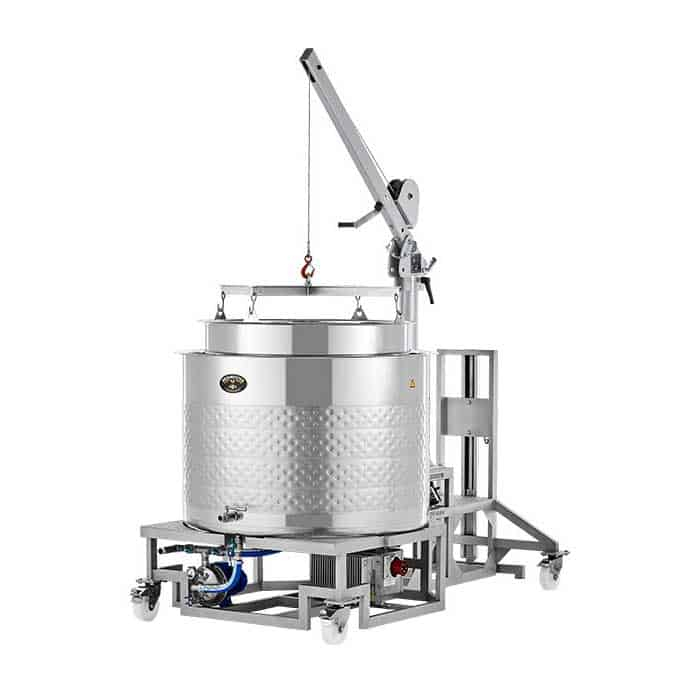 Brewmaster BM-500 brewhouse