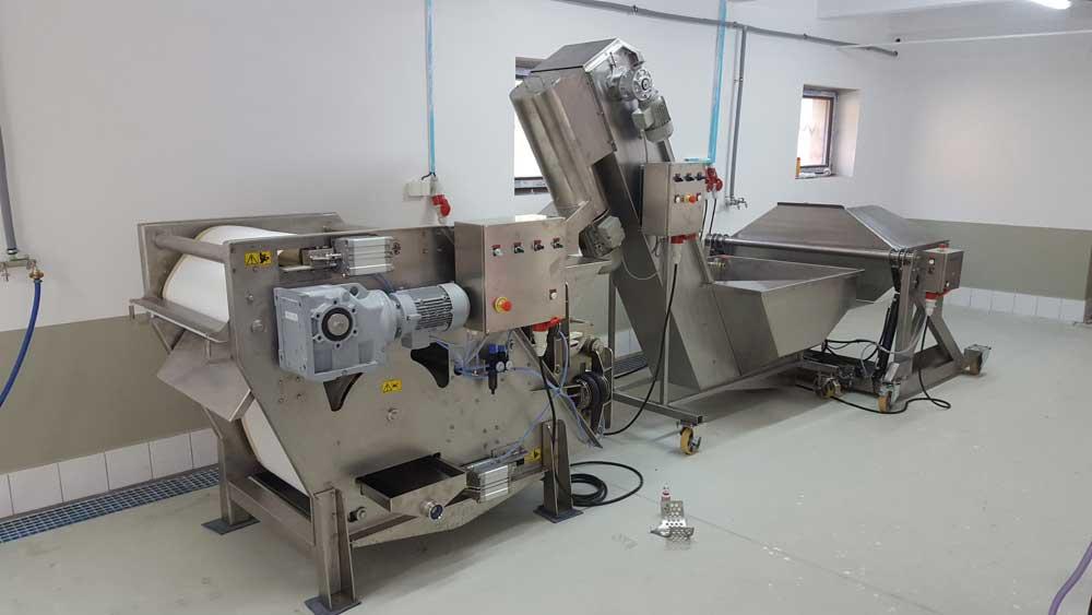 Cider production line 1000 kg per hour