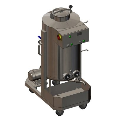 CIP-101 : Cleaning and sanitizing station 1x100 liters