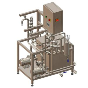 KCA-20D : Machine for the automatic rinsing and filling of kegs 8-20 kegs/hour