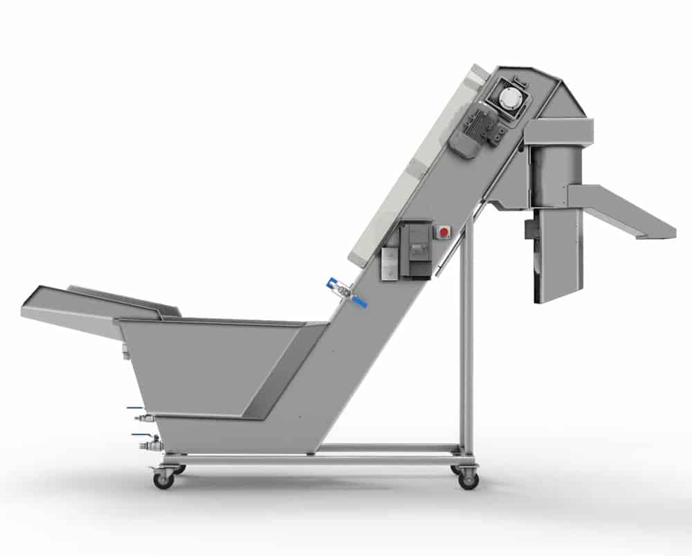 FWC 3000 MG 02 - FWC-3000-MG : Fruit rinser and crusher 1000 up to 2000 kg/hour - cfc-cpt, cfc