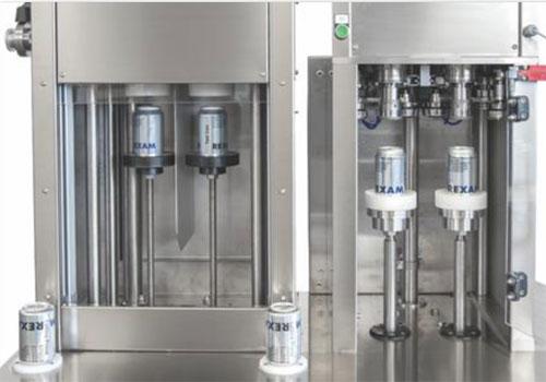 BFSA-MB Filling the aluminium cans