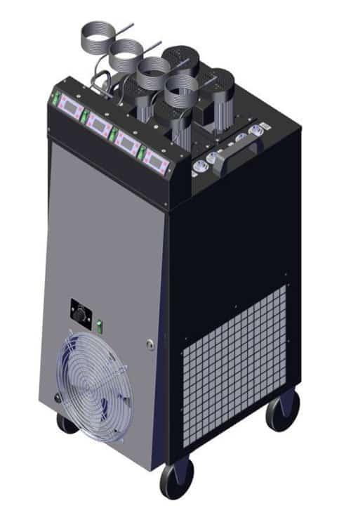 CLC 4P2300 01 - CLC-4P2300 Compact liquid cooler 2.3 kW with four pumps and temperature regulators - hba, clc