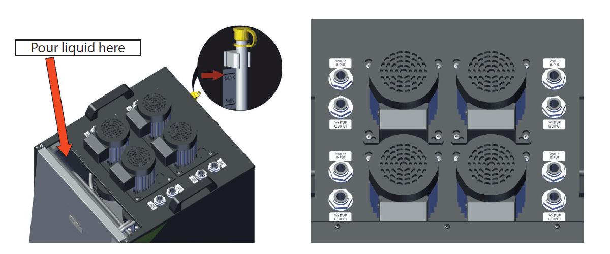 CLC-4P2300 hose connectors