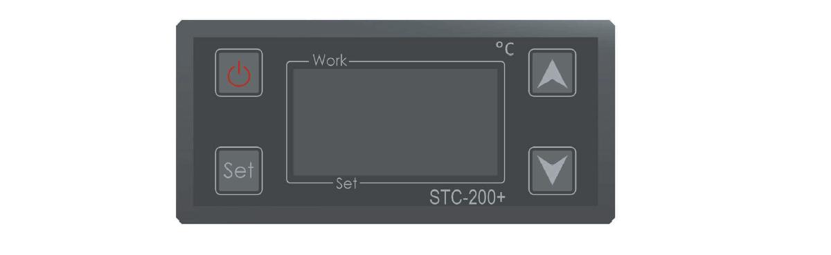 CLC 4P2300 control panel thermostats - CLC-4P2300 Compact liquid cooler 2.3 kW with four pumps and temperature regulators - hba, clc