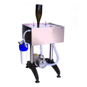 BWC-M600 Manual bottle rinsing and sterilizing machine with recycling pump