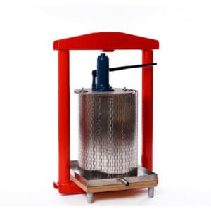 MHP-50S Manual hydraulic fruit press 50 liters – stainless steel version
