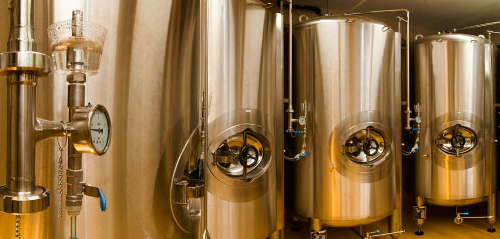 Bright beer tanks - vertical, insulated