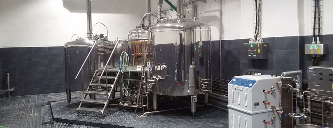 BREWORX TRITANK brewhouse - the industrial wort brew machine
