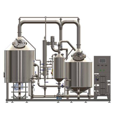 BREWORX CLASSIC-ECO 300 brewhouse - front view