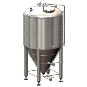 CCT-1200CR Cylindrically-conical fermentation tank CRAFT, insulated, 1200/1637L