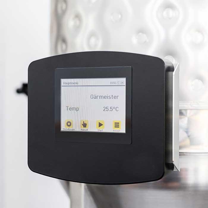 BMGM 01 gaermeister control system 04 - BMGM-01 GÄRMEISTER : Automatic temperature control system for fermentors - hba, sttc