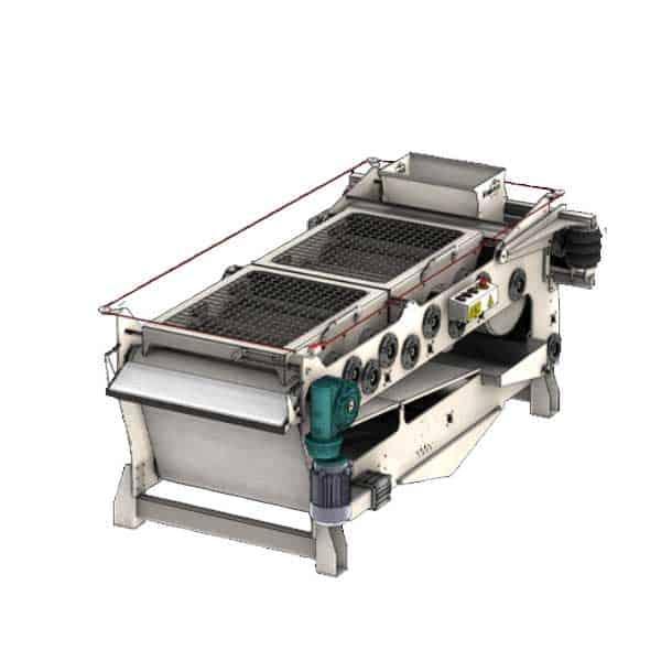 FBP-2000 Fruit belt press 2000 kg/hr