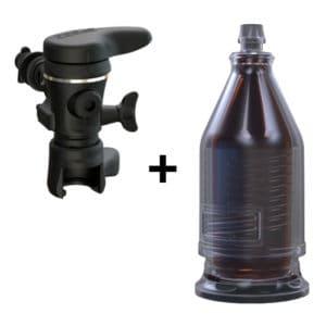 Pegas glass bottle filling set
