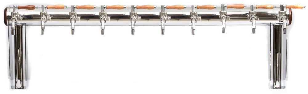 "BDT-GT10N : Beverage dispense tower ""Beer Gate"" with 10pcs of the Nostalgia beverage taps"