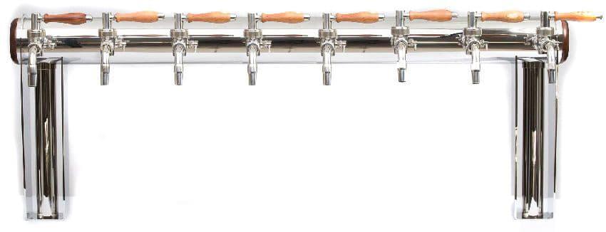 """BDT GT8N 1000 - BDT-GT8N : Beverage dispense tower """"Beer Gate"""" with 8pcs of the Nostalgia beverage taps - bdt"""