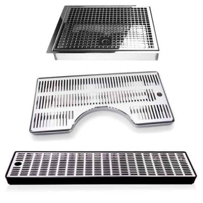 Drain gutters and boards